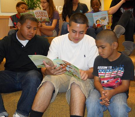 BookSpring's Read-A-Thon at O. Henry Middle School
