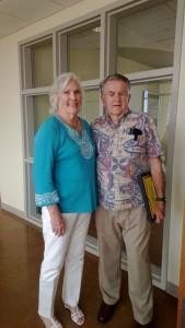 Kaye and Randy Patterson at the 2013 Volunteer Appreciation Party