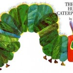 "Book cover ""The Very Hungry Caterpillar"" by Eric Carle"