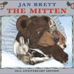 "Book Cover ""The Mitten"" by Jan Brett"