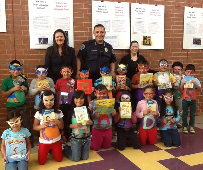 Art Acevedo at Perez Elem