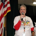 Librarian Kay Gooch kicks off Read-A-Thon 2014 at Gullett Elementary