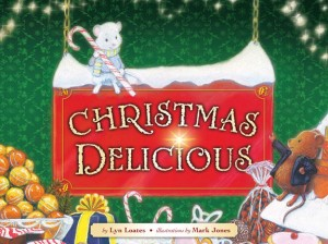 Book Cover Christmas Delicious by Lyn Loates