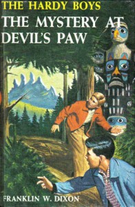 Hardy Boys cover The Mystery at Devil's Paw