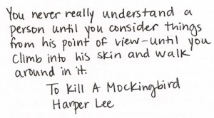 Harper Lee Quote Point of View