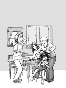 Ramona Quimby and her family