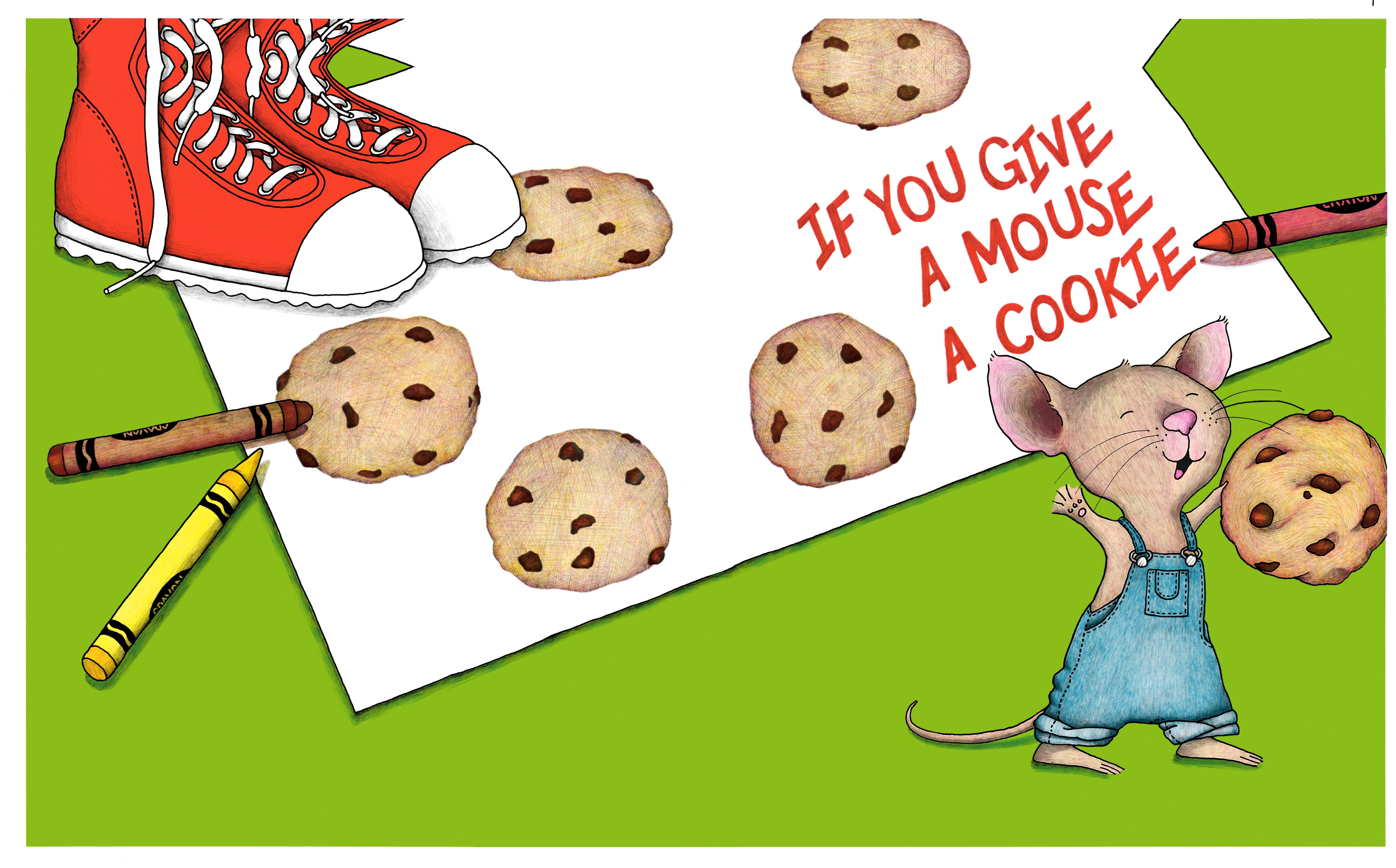 If You Give a Mouse a Cookie: Galindo Elementary Literacy Night!