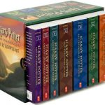 A full set of Harry Potter Books
