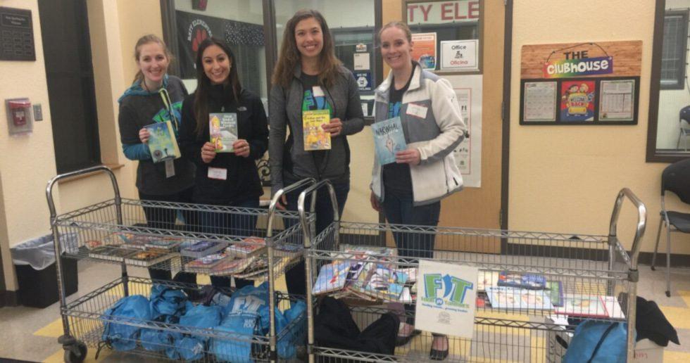 Rebook distributes books