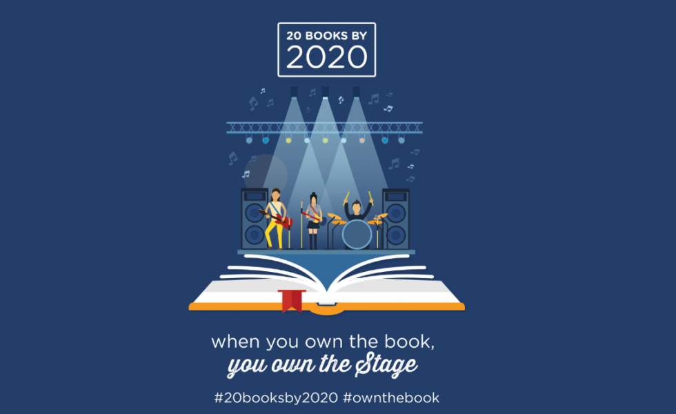 When you own the book you own the stage