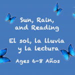 Weekly Themes #2:  Sun, Rain, and Reading for 6-8 years old