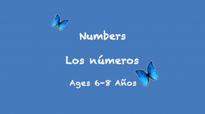 Numbers for 6-8 year olds