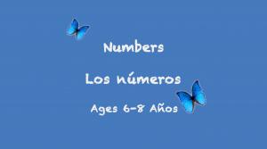 Números para niños de 6 a 8 años