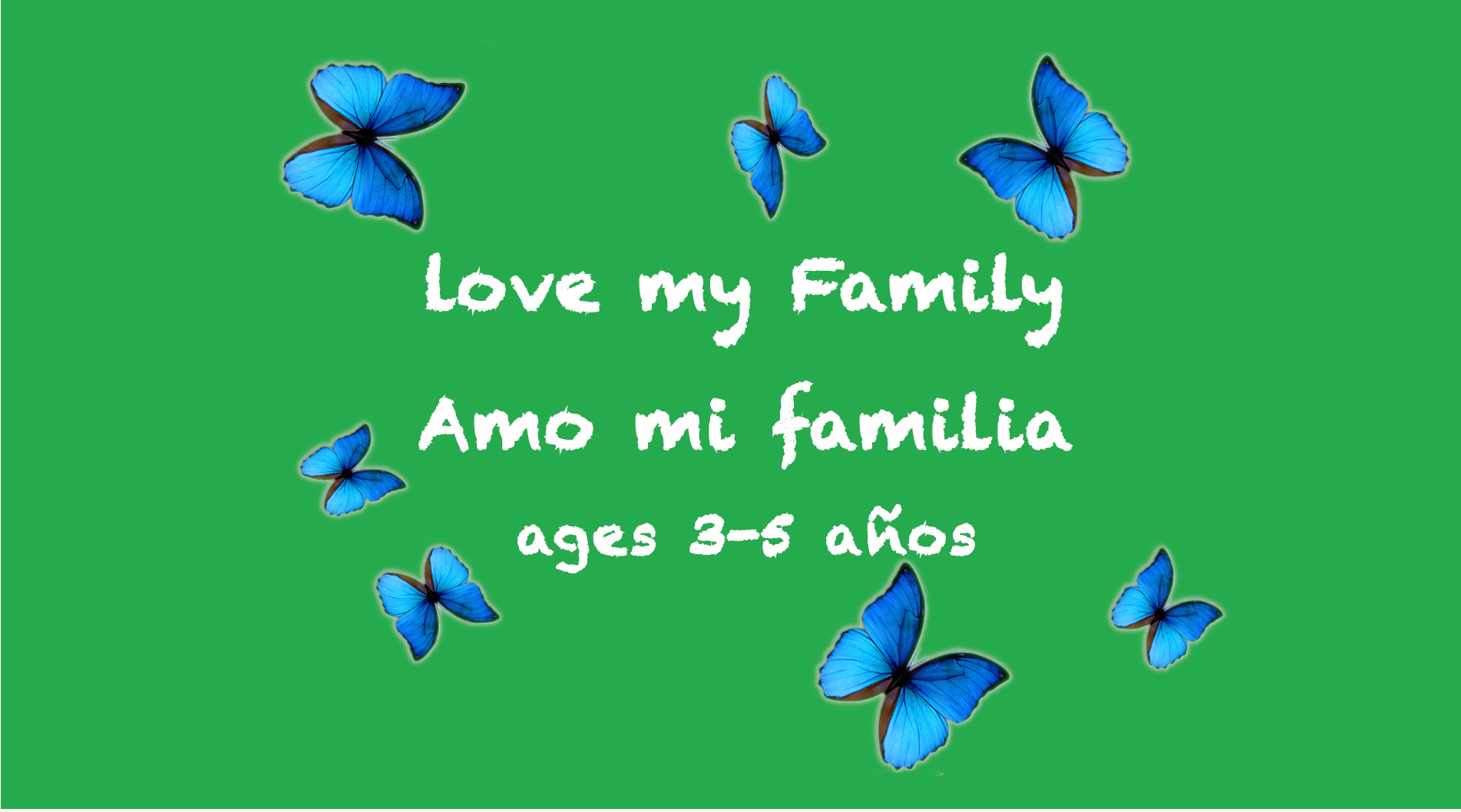 Weekly Themes #4: Love My Family for 3-5 years old
