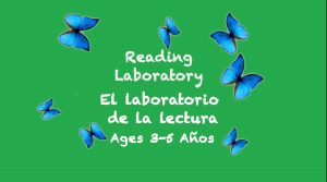 Laboratorio de lectura para niños de 3 a 5 años