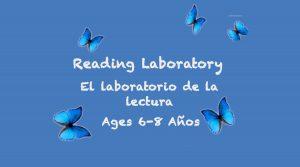 Laboratorio de lectura para 6 a 8 años