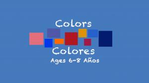 Colores para niños de 6 a 8 años
