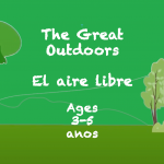 Reading in the Great Outdoors for 3-5 year olds