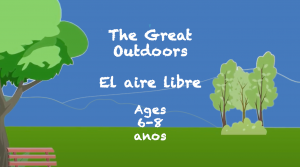 Lectura al aire libre para niños de 6 a 8 años
