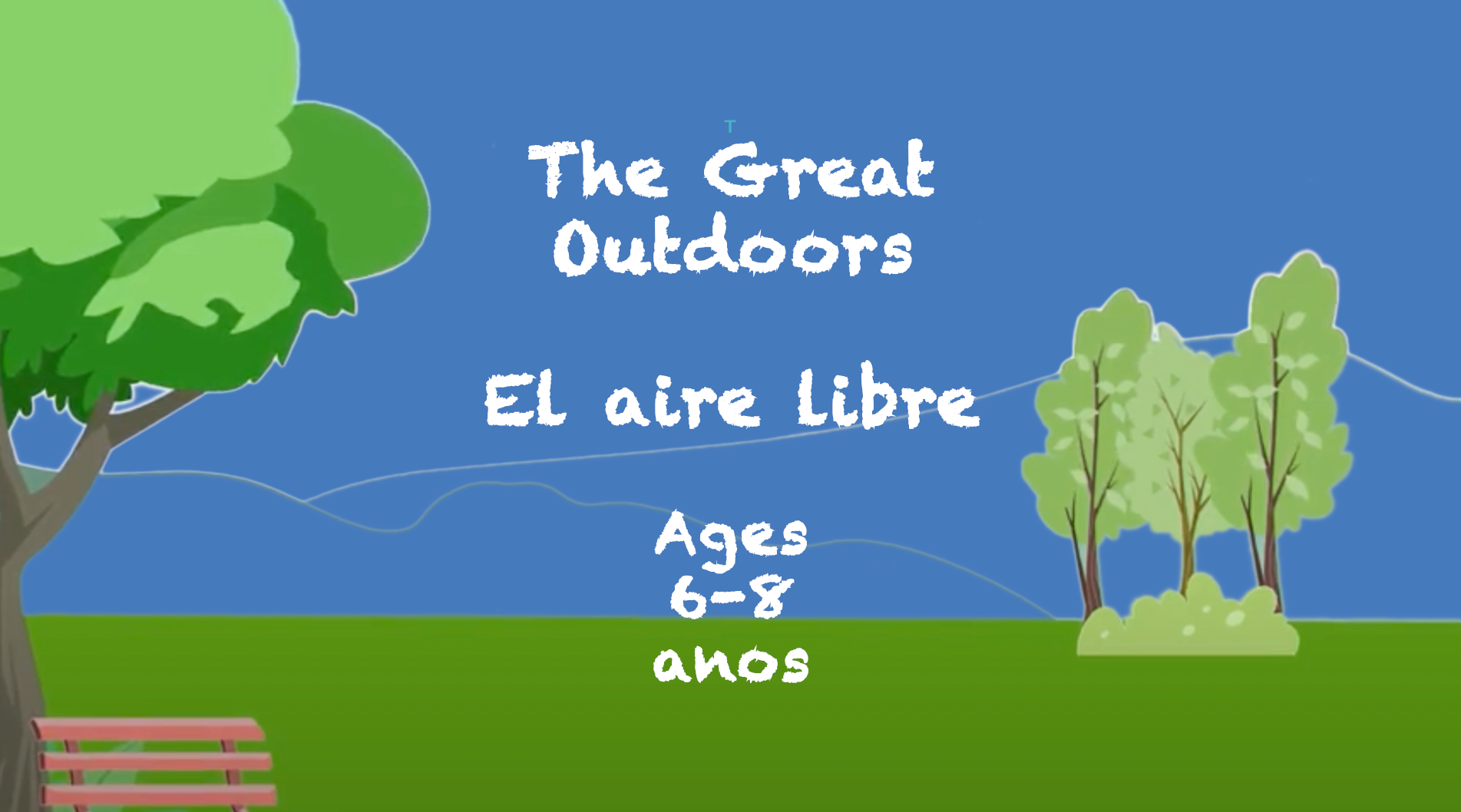 Reading in the Great Outdoors for 6-8 year olds
