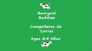 Week 8 Barnyard Buddies Card Ages 3-5