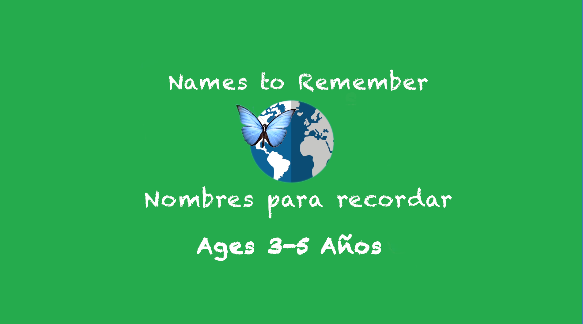 Week 9 Names to Remember