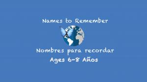 Semana 9 Nombres para recordar