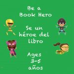 Be a Book Hero for 3-5 year olds