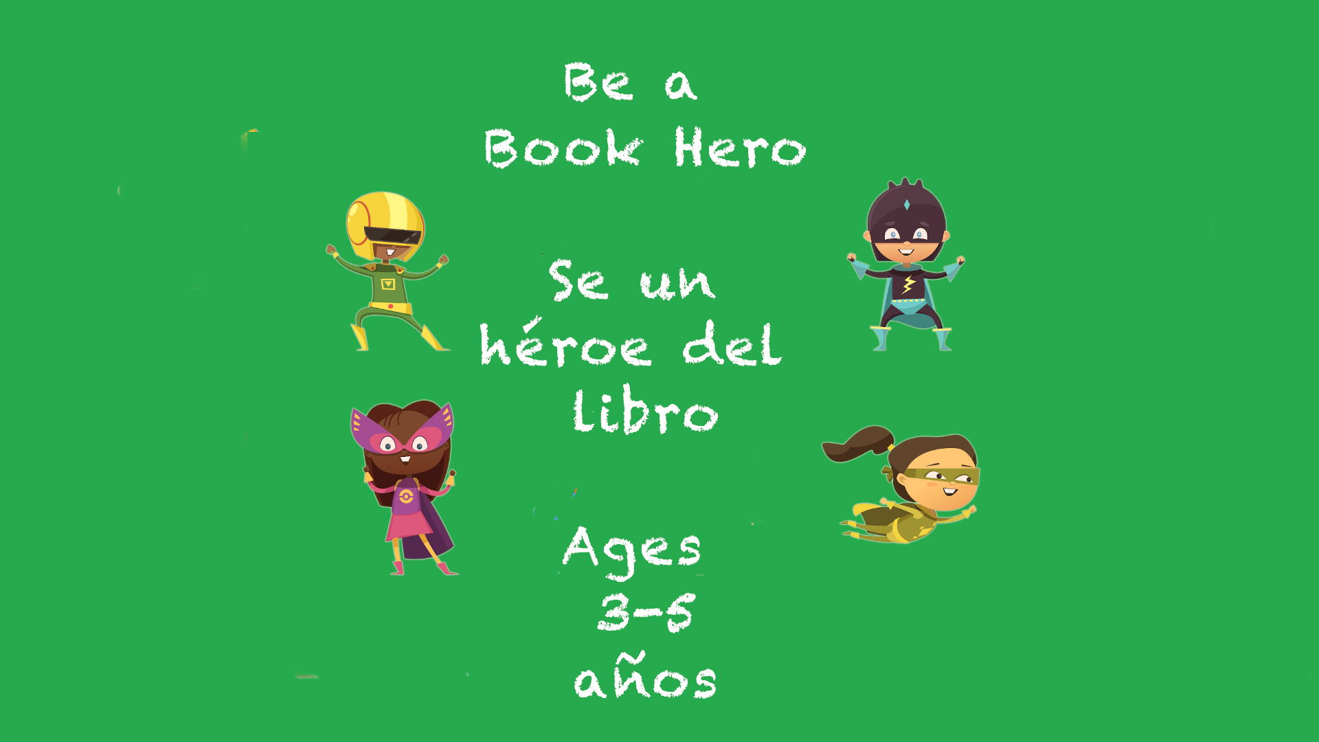 Weekly Themes #13 Be a Book Hero 3-5 year olds