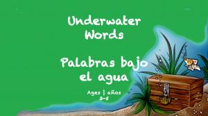 Temas semanales Palabras bajo el agua Libro de primavera de 3 a 5 años