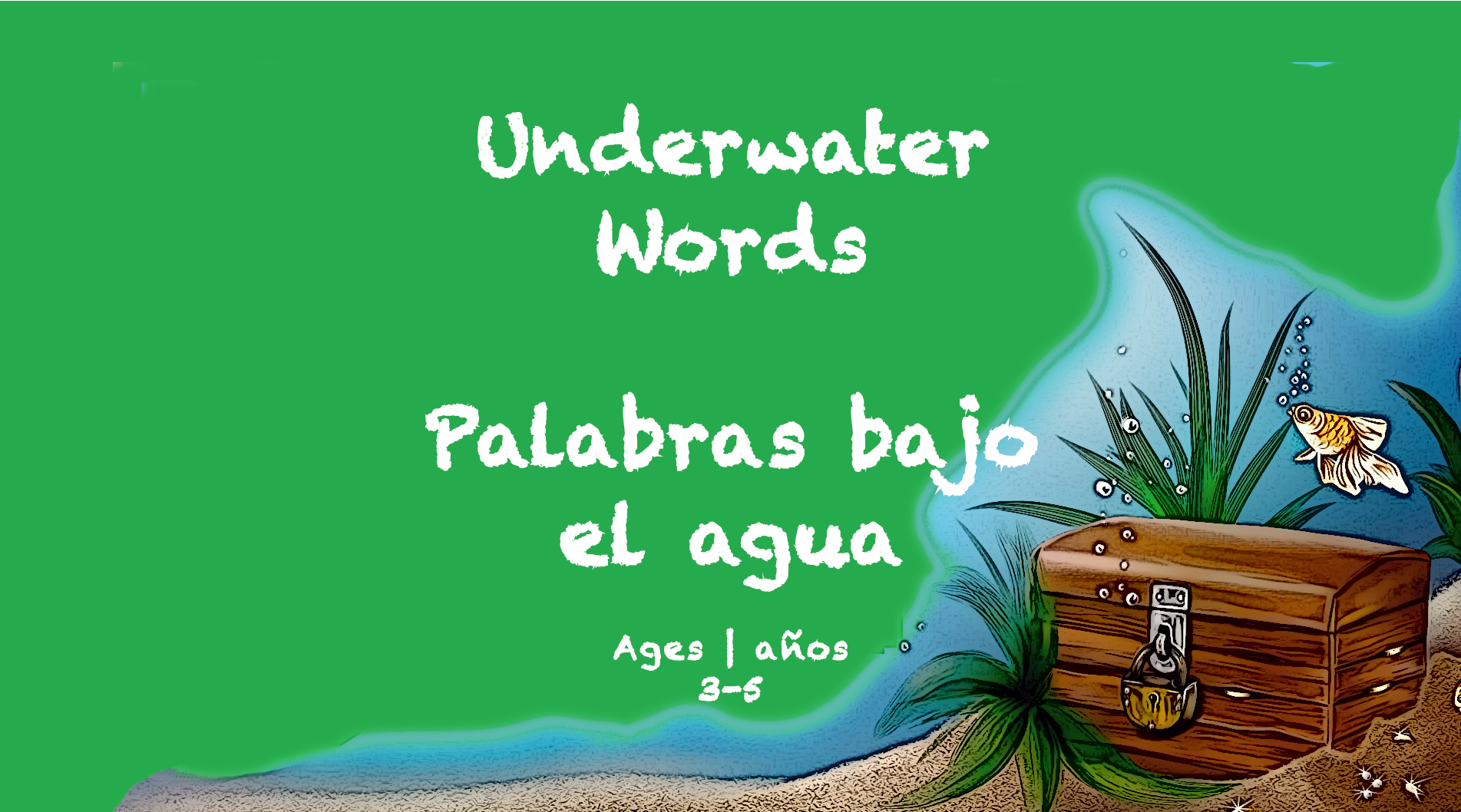 Weekly Themes Underwater Words BookSpring Ages 3 to 5