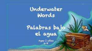 Temas semanales BookSpring a domicilio Aprendizaje bajo el agua Palabra de 6 a 8 años