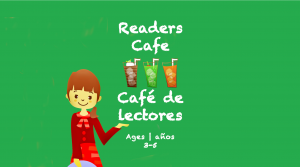 Readers Cafe for 3-5 year olds