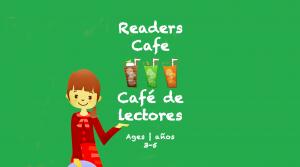 Café de los Lectores para niños de 3 a 5 años