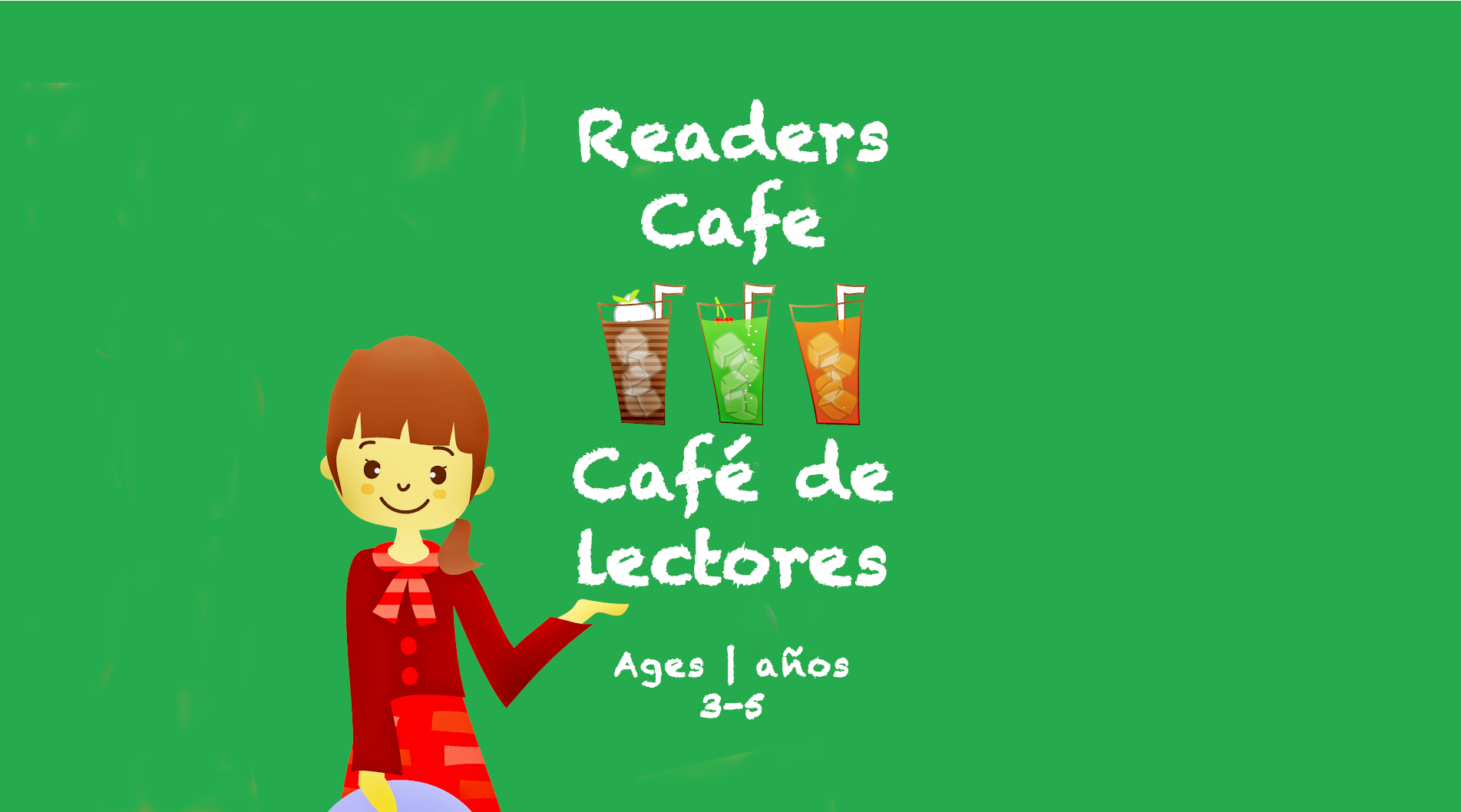 Weekly Themes #16 Reader's Cafe for 3-5 year olds