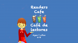 Readers Cafe Card Ages 6-8 year olds