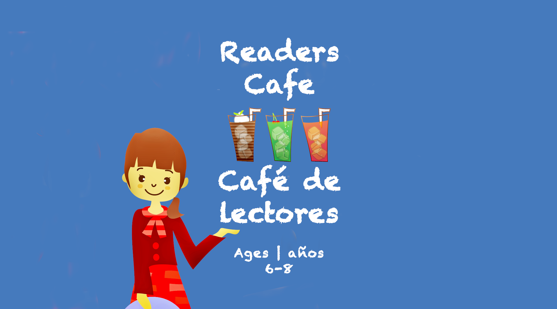 Weekly Themes #16 Reader's Cafe for 6-8 year olds