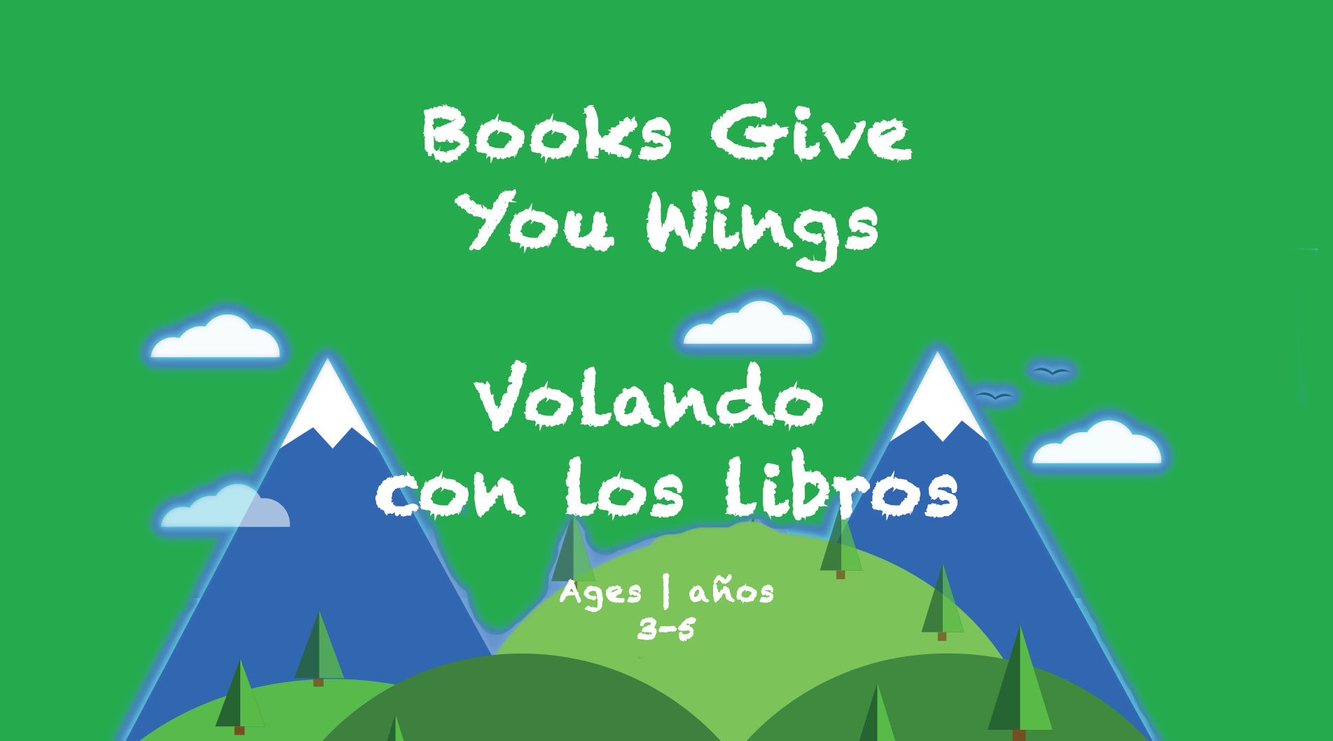 Weekly Themes #18 Books Give You Wings for 3-5 year olds