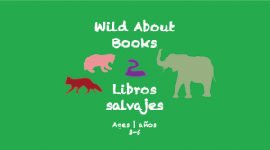 Week 17 Wild About Books Card Ages 3-5