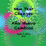 Weekly Themes #20 New Year Changes for 3-5 year olds
