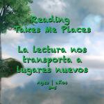 Reading takes me places 3-5