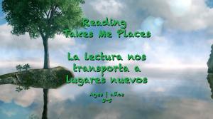 La lectura me lleva a los lugares 3-5