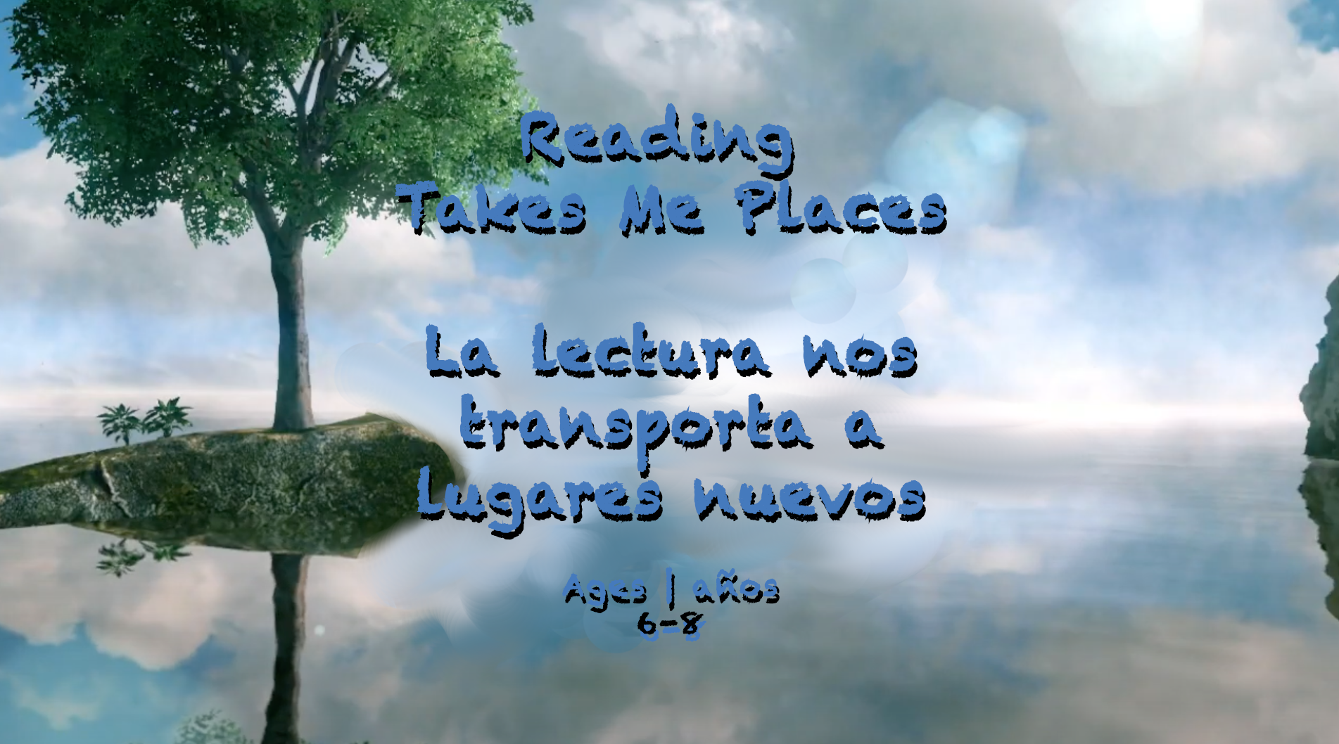 Weekly Themes #22 Reading Takes Me Places for 6-8 year olds