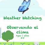 Week 21 Weather Watching Card Ages 3-5