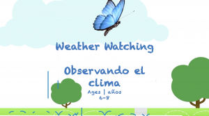Week 21 Weather Watching Card Ages 6-8