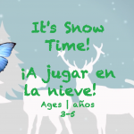 Week 23 It's snow time Card Ages 3-5