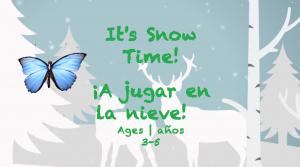 Semana 23 It' tiempo de nieve de la tarjeta Edades 3-5