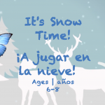 Week 23 It's snow time Card Ages 6-8