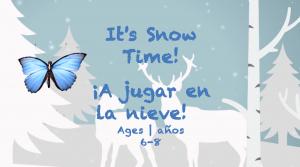 Semana 23 It' tiempo de nieve de la tarjeta Edades 6-8