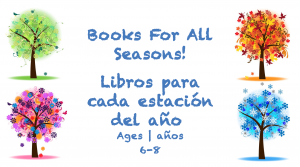 Week 26 Books for All Seaasons Card Ages 6-8